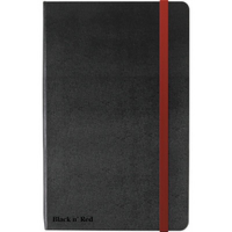 Black n' Red soft touch A4 Notebook