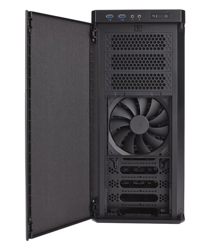 Carbide Series 330R Blackout Edition Ultra-Silent Mid-Tower Case
