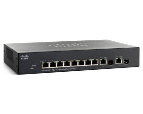Cisco SG200-10FP 10 Port Gigabit PoE Smart Switch