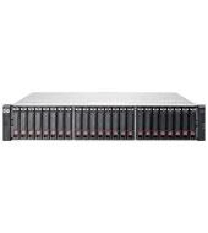 HPE MSA 1040 1G iSCSI Dual Controller w/4 600GB 6G SAS 10K SFF HDD Bundle/TVlite