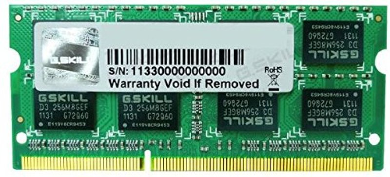 Image of G.Skill 8GB (8GBx1) DDR3 1333MHz Memory for Apple Mac