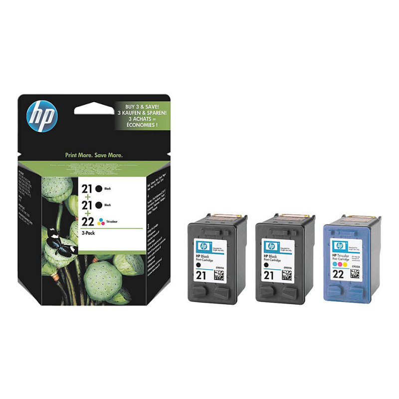 Hp 212122 Ink Cartridge Tripack  SD400AE