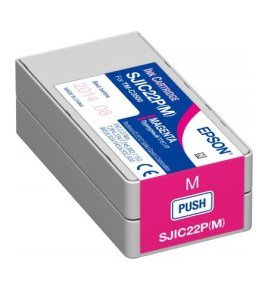 Epson SJIC22P  TM-C3500 Magenta Ink cartridge