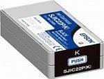 Epson SJIC22P C Ink cartridge f TM-C3500 Black