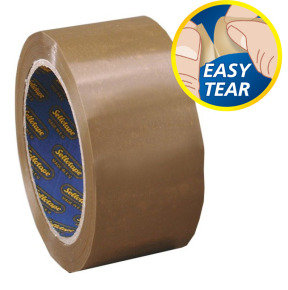 Sellotape Packaging Tape 50mmx66m Buff - 6 Pack