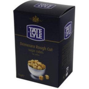 Tate and Lyle Demerara Rough Cut Sugar Cubes 1kg
