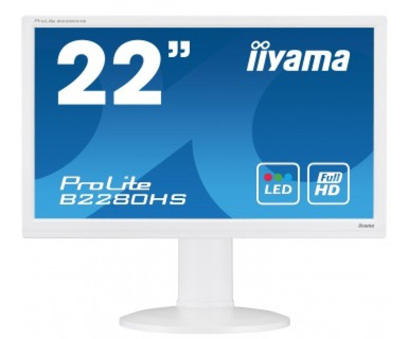 "Iiyama ProLite B2280HSW1 22"" LED LCD HDMI Monitor"