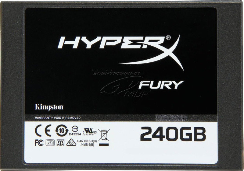 HyperX Fury Series 240GB SATA3 2.5inch 7mm height SSD