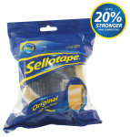 Sellotape Golden Tape 48mmx66m 1443304 - 6 Pack