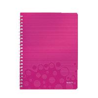 Leitz WOW Notebook A4 Polypropylene Ruled - Pink