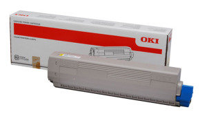 OKI C711 Yellow Toner Cartridge