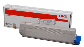 OKI C822 Black Toner Cartridge