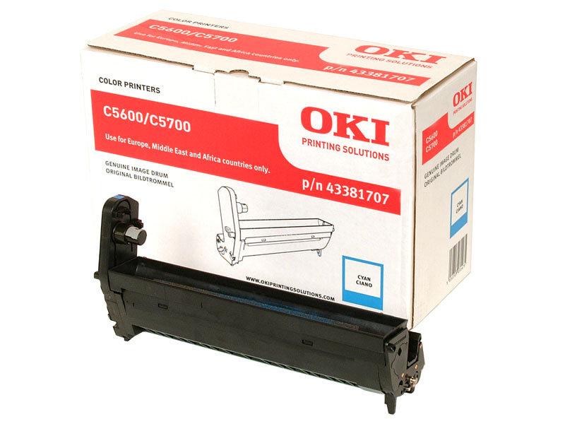 OKI C822  Cyan Image Drum Kit