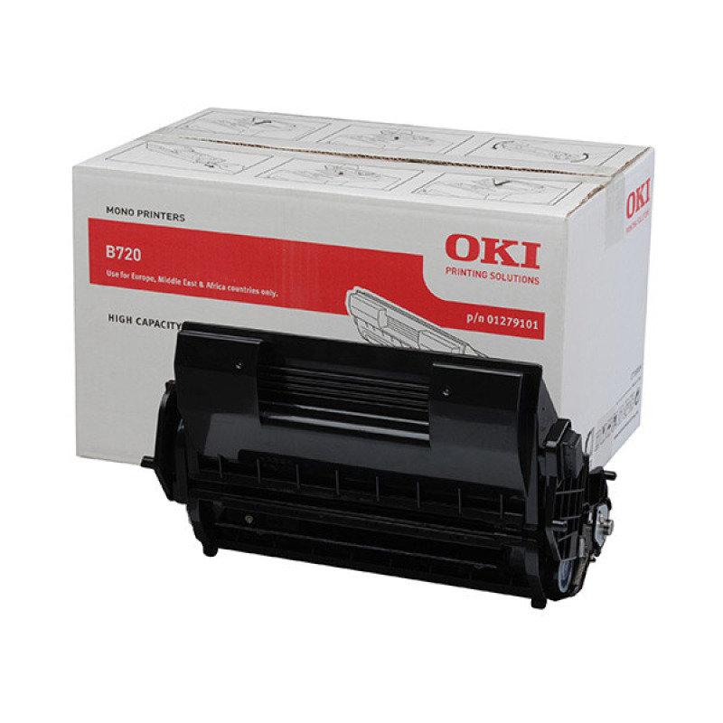 *OKI B720 Black Toner Cartridge