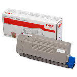 OKI - Toner cartridge - 1 x black - 11500 pages - For C711