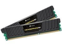 Corsair 8GB (2x4GB) DDR3 1600MHz Low Profile Vengeance Memory Kit CL9  1.5V