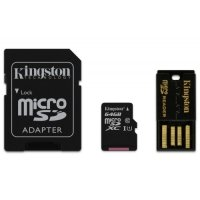 Kingston Technology 64GB Multi Kit / Mobility Kit SDXC Card and Reader