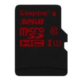 Kingston Technology 32GB MicroSDHC UHS-I Memory Card