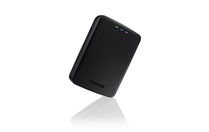 Image of Toshiba Canvio Aero 1TB Cast Wireless HDD