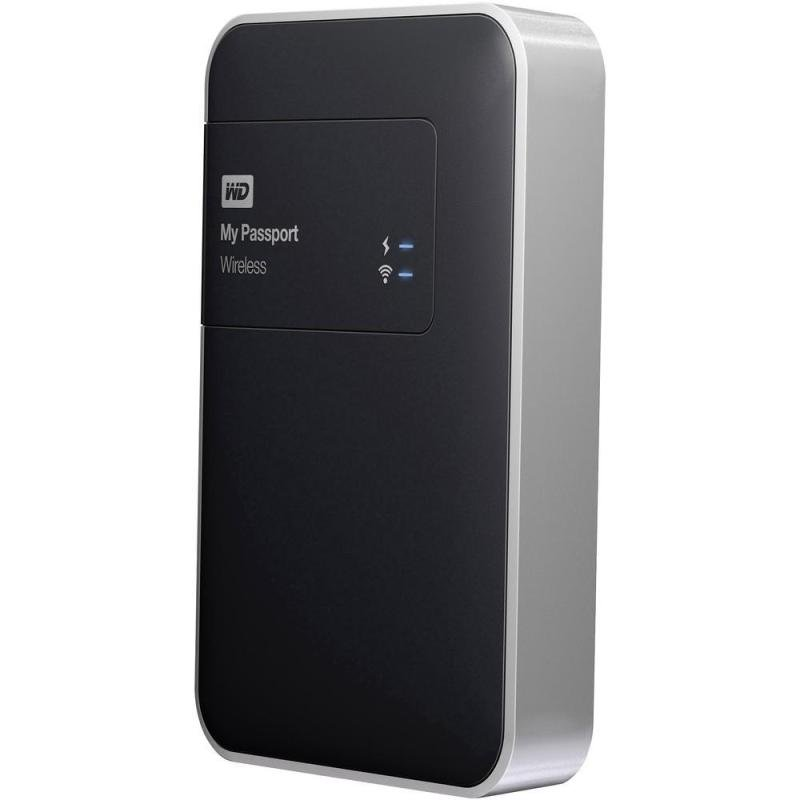 Image of WD My Passport Wireless 1TB USB 3.0 External HDD