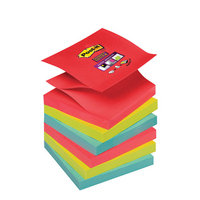 Post-it Super Sticky Colour Z-Notes Bangkok 76x76mm