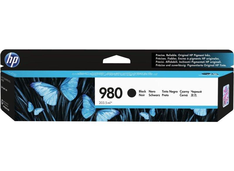 HP 980 Black Ink Cartridge - D8J10A