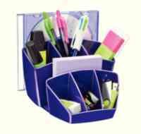 CEP ProGloss Desk Tidy Purple 580G