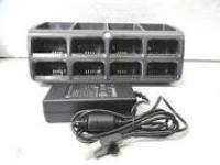 RS507 8 SLOT BATTERY CHGR KIT - INC. CHARGER PSU US AC CORD IN