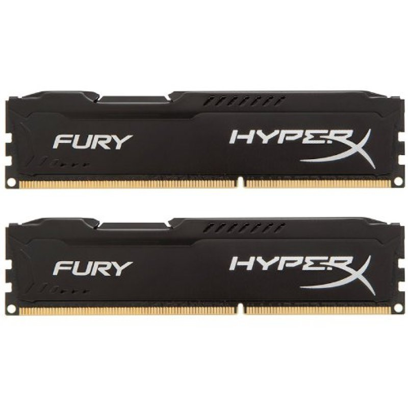 Hyperx Fury Black 32GB (4x8GB Kit) 2666MHz DDR4 Non-ECC CL15 DIMM