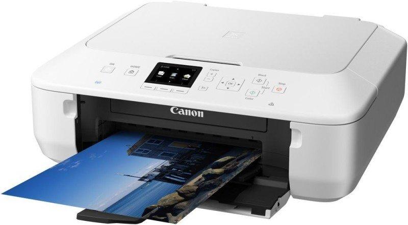 Image of Canon PIXMA MG5650 InkJet Photo Printer - White