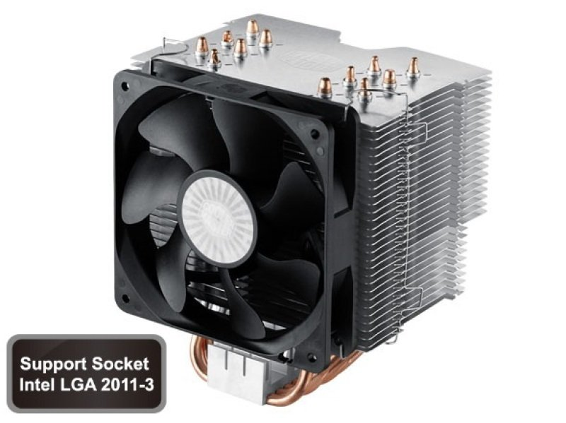 Cooler Master Hyper 612 Ver2 6 Heatpipes/1x120mm Fan CPU Air Cooler