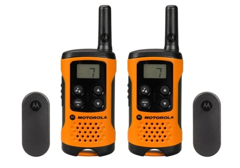 Motorola TLKR T41 500mw 6km 2 Way Radio Walkie Talkie