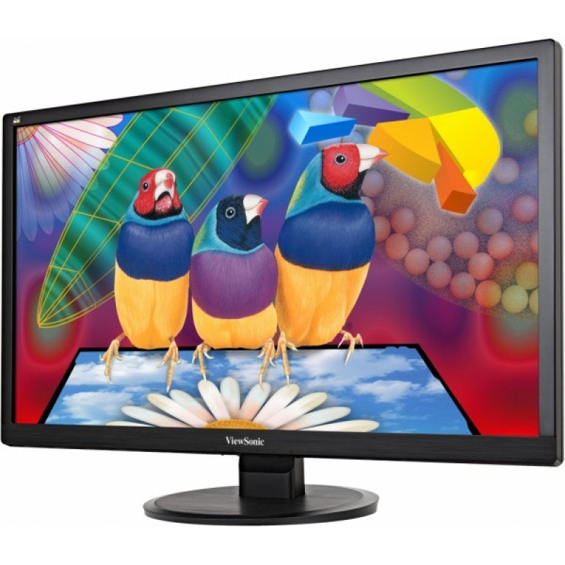 "ViewSonic VA2855SMH 28"" Full HD VGA HDMI Monitor"