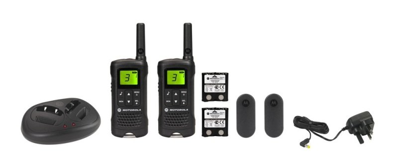 Motorola TLKR T61 Walkie Talkie Twin Pack PMR with Charger