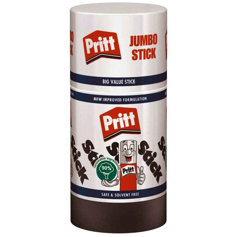 Pritt Stick Jumbo 90g 1055 - 6 Pack