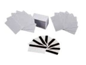 Zebra Premium Plus PVC Cards 100 Cards - 5 Pack