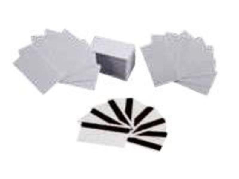 Zebra Premium Plus PVC Cards 100 Cards - 5 Pack
