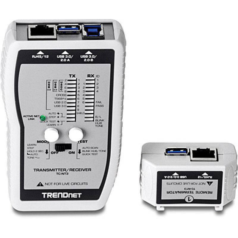 Usb Cable Tester : Trendnet tc nt vdv usb cable tester ebuyer
