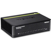Trendnet TE100-S16DG 16 X 10/100 MBPS Greennet Switch - Desktop