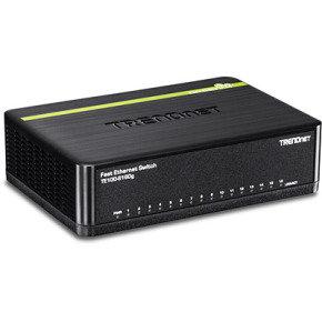 Trendnet TE100-S16DG 16 X 10/100 MBPS Greennet Switch - Desktop