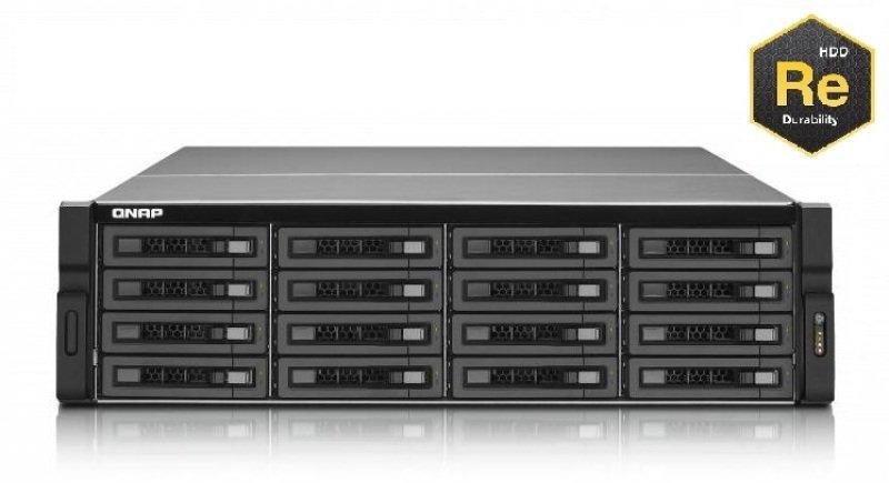 QNAP TS-EC1679U-RP-E10G 64TB  10Gbe 16 Bay 3U Rack NAS