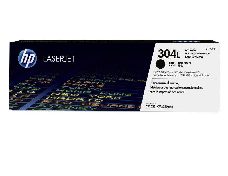 HP 304L Black Economy Toner cartridge - CC530L
