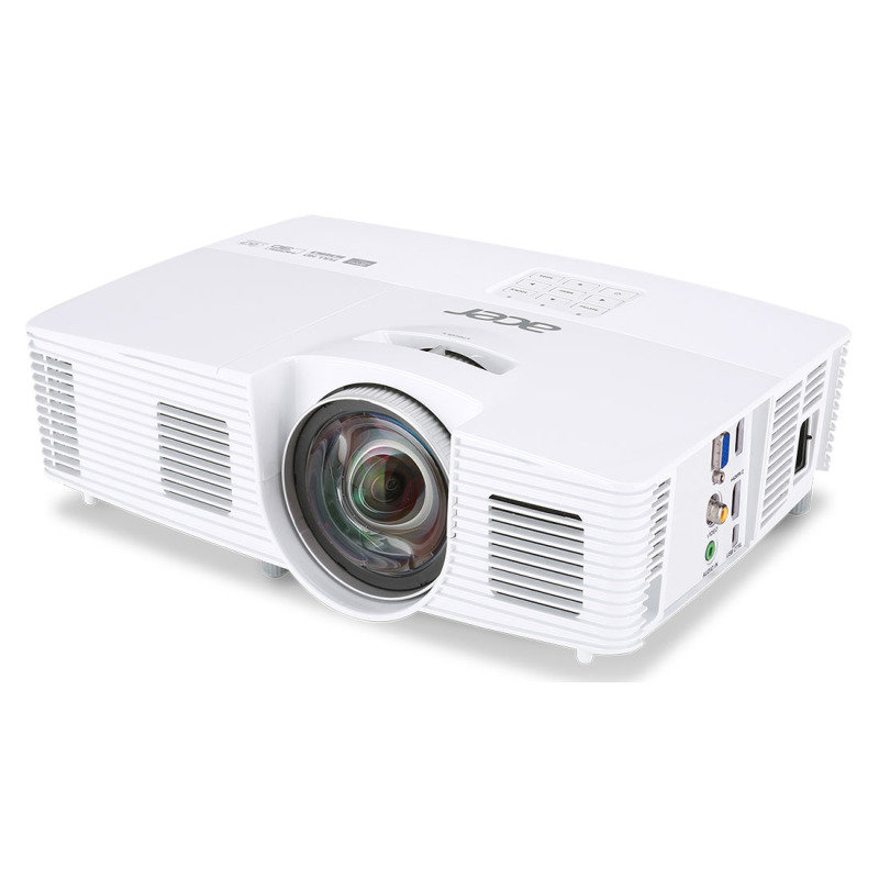 Image of Acer H6517st 1080p Full HD 3D Short Throw Projector - 3200 lms