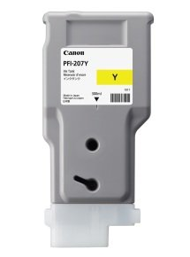 Canon PFI-207Y Yellow Ink Tank 300ml