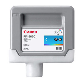 Canon PFI-306C Cyan Ink Tank 330ml