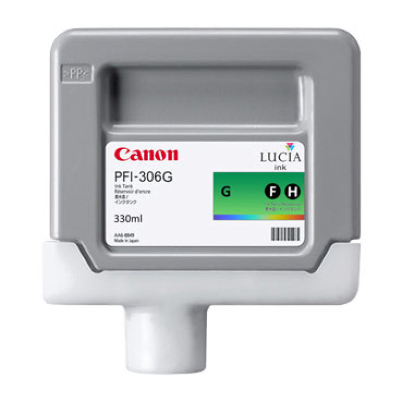Canon PFI-306G Green Ink Tank 330ml
