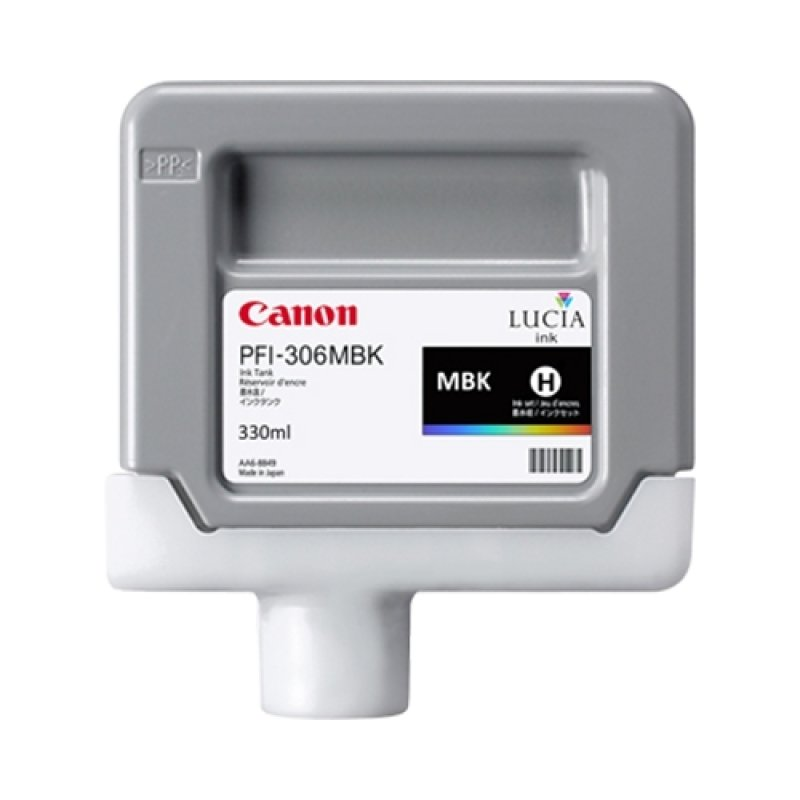 Canon PFI-306MBK Matte Black Ink Tank 330ml