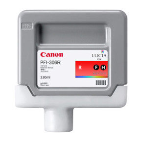 Canon PFI-306R Red Ink Tank 330ml