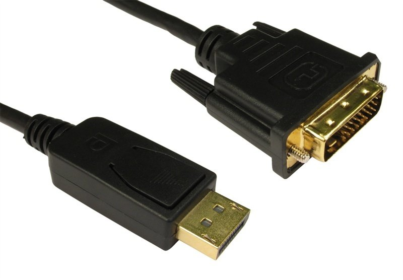 Image of 2m Display Port to DVI Cable