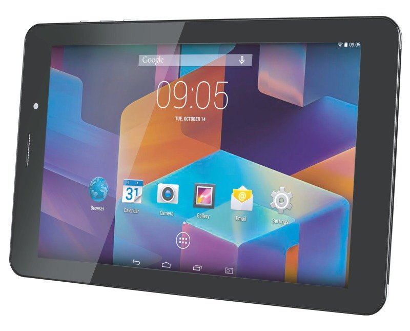 "Image of Hannspree HANNSpad 8"" HD 3G Tablet PC, Cortex A7 1.3 Quadcore, 1GB RAM, 8GB Flash, 8"" Touch IPS, 3G, WiFi, Bluetooth 4.0, 2 Cameras, Android 4.4.2"